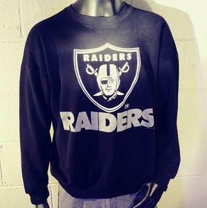 💣🏈Vintage Logo 7 Raiders Lightwieght sweatshirt